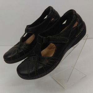 Clarks Collections Women's 7 N Mary Jane Black